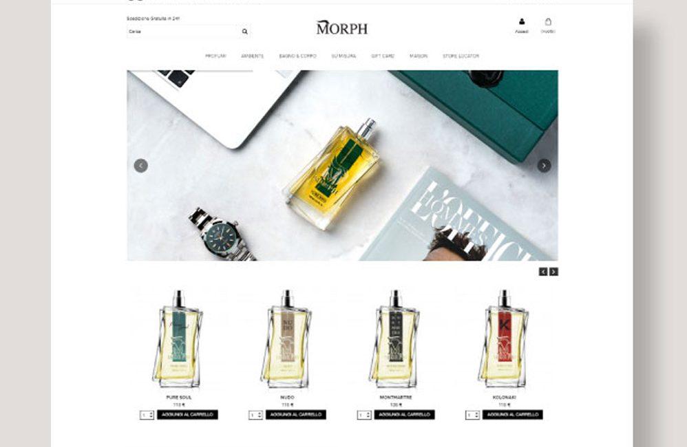 morph parfum homepage
